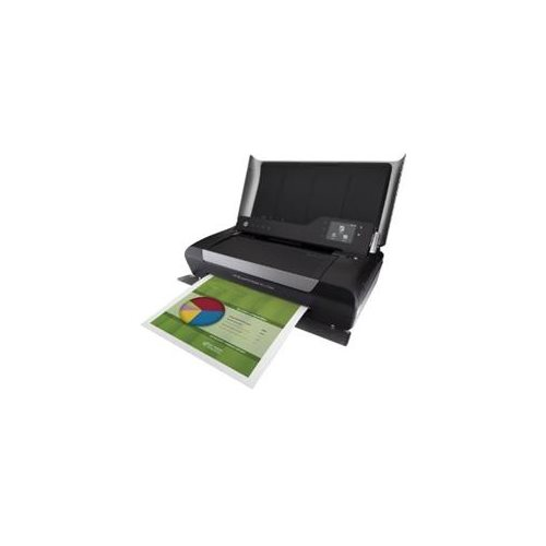"HP Officejet 150 Inkjet Multifunction Printer - Color - Plain Paper Print - Desktop - Copier/Printer/Scanner - 22 ppm Mono/18 ppm Color Print - 5 ppm Mono/3.5 ppm Color Print (ISO) - 4800 x 600 dpi Print - Manual Duplex Print - 2.4"" Touchscreen - 600 dpi 1"
