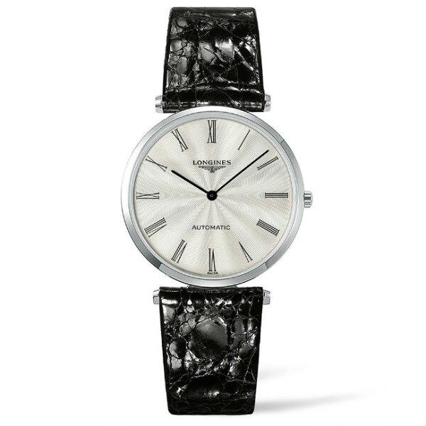 LONGINES浪琴錶L49084712嘉嵐超薄機械優雅腕錶白面36mm