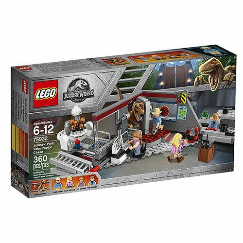 樂高積木LEGO《LT75932》JurassicWorld侏儸紀世界系列>JurassicParkVelociraptorChase