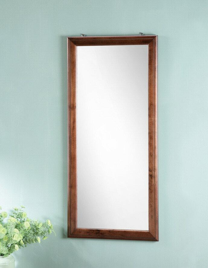 90*40實木掛鏡 壁鏡 穿衣鏡 全身鏡 【馥葉2】【型號MR9040WA】