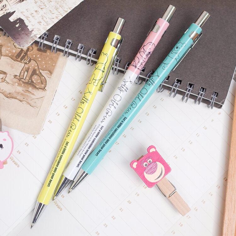 PGS7 迪士尼系列商品 - 小熊維尼 Winnie 馬卡龍 自動鉛筆【SHZ80018】