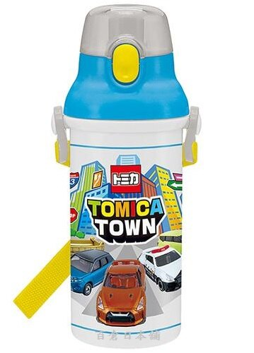【百倉日本舖】日本製TOMICA水壺/兒童水壺/直飲式水壺/彈跳式水壺