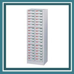 西瓜籽【辦公傢俱】CK-1236A (ABS) 牙白 表單櫃 零件櫃