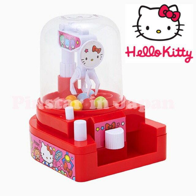 【真愛日本】17080900023 迷你夾娃娃機-KT紅 三麗鷗 Hello Kitty 凱蒂貓 小型玩具機 糖果機 擺飾 收藏 限量
