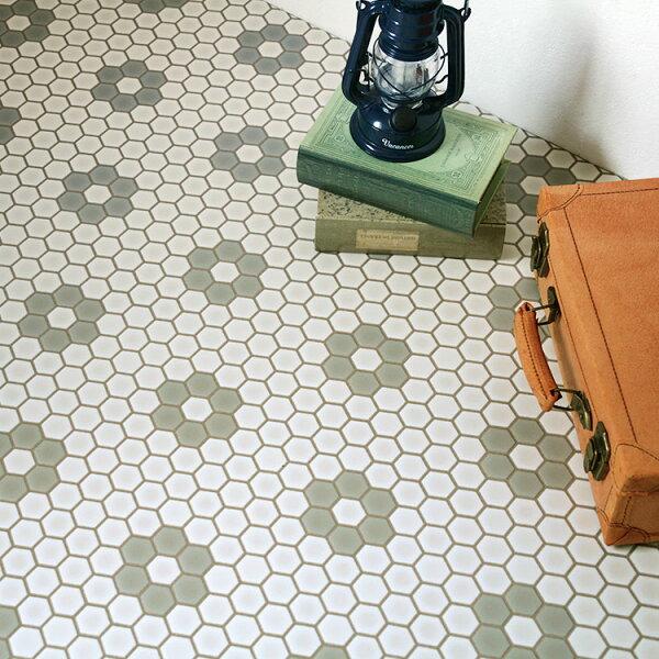 馬賽克紋家用PVC地板革卷材SHM-1117