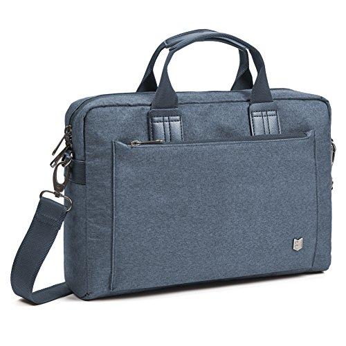 9157fb56efb7 Evecase City 13 - 13.3 inch Laptop Briefcase Messenger Bag, Professional  Business Water Resistant Shoulder bag for Apple 13 Inch MacBook Air / Pro  ...