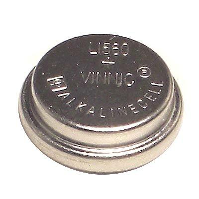 [漫朵拉情趣用品]【Vinnic】鹼性錳鈕扣型電池15.4ㄨ6.15mm (1入)卡裝 DM-61