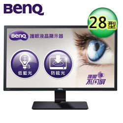 【BenQ 明基】28型 低藍光不閃屏螢幕(GC2870H)【三井3C】