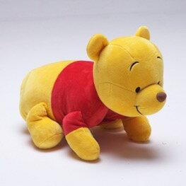 缺貨3月【禾宜精品】迪士尼 小熊維尼 多功能玩偶毯 玩偶 毛毯 枕頭 Zoobies Disney Pooh YZB113 結帳折100