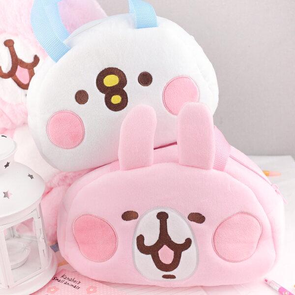 PGS7卡娜赫拉系列商品-卡娜赫拉Kanahei兔兔P助頭型絨毛提袋【SIB80050】