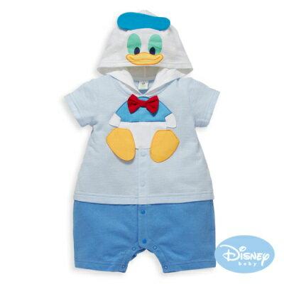 DisneyBaby連帽唐老鴨造型連身裝