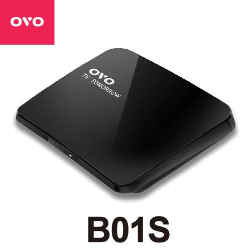 OVOTV電視盒(OVO-B01S)支援4K2K高畫質▼支援Androidios雙系統投影