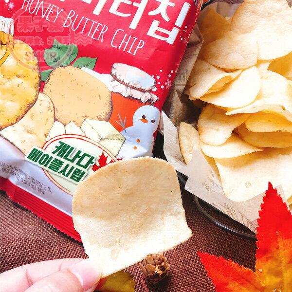 韓國 海太calbee蜂蜜奶油洋芋片 (楓糖味) 單包 [KR429]
