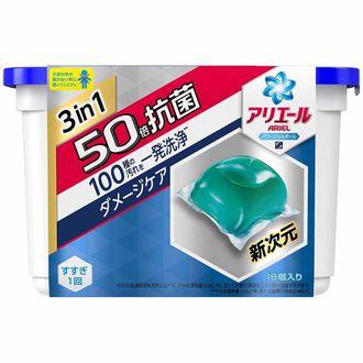 (108顆)「P&G」超好用!3D立體消臭洗衣球x2盒+補充包4包 3