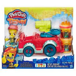 《 Play - Doh 培樂多 》城市系列 - 消防車遊戲組