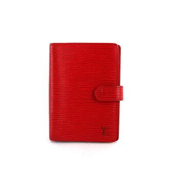 【LV】 EPI 6孔 活頁 記事本 ( 紅色) LV99000010