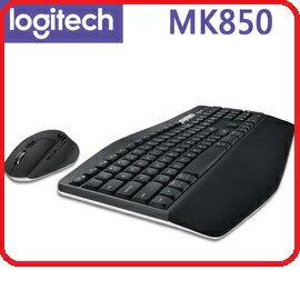 羅技2017 MK850 Performance 多平台多工無線鍵盤滑鼠組   USB 藍