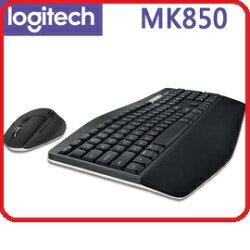 羅技2017新版 MK850 Performance 多平台多工無線鍵盤滑鼠組 / USB 藍芽 雙用