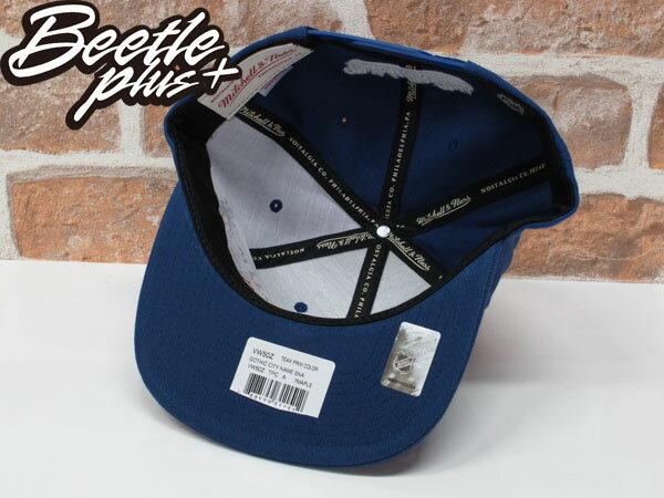 BEETLE PLUS 全新 MITCHELL&NESS NHL TORONTO 多倫多 楓葉 藍 白字 後扣 棒球帽 SNAPBACK MN-371 2