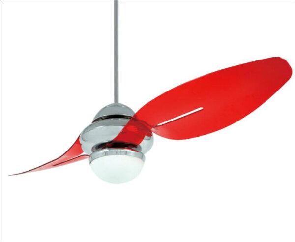 【Libellula蜻蜓系列】★透紅色2葉塑膠葉片芬朵VENTO54吋110V吊扇藝術吊扇★永光照明