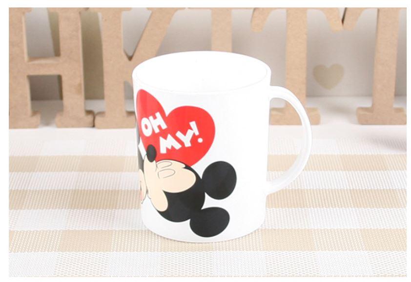X射線【C093565】米奇Mickey米妮Minnie漱口杯,水杯/馬克杯/杯瓶/茶具/湯杯/玻璃杯/不鏽鋼杯