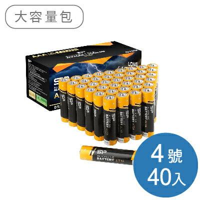 SP廣穎4號鹼性電池40顆(盒裝)