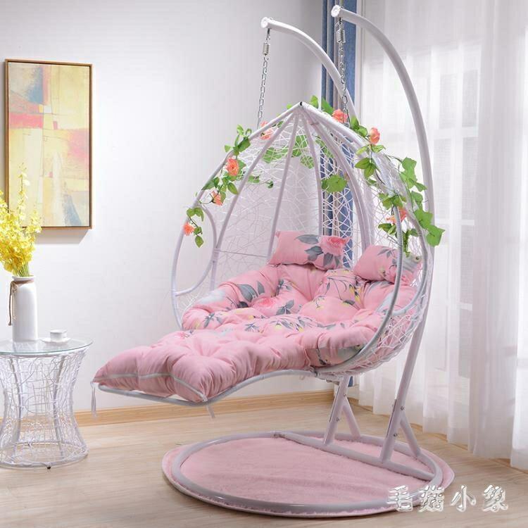 吊椅吊籃藤椅雙人吊床家用懶人陽台鳥巢搖籃椅子秋千戶外休閒椅