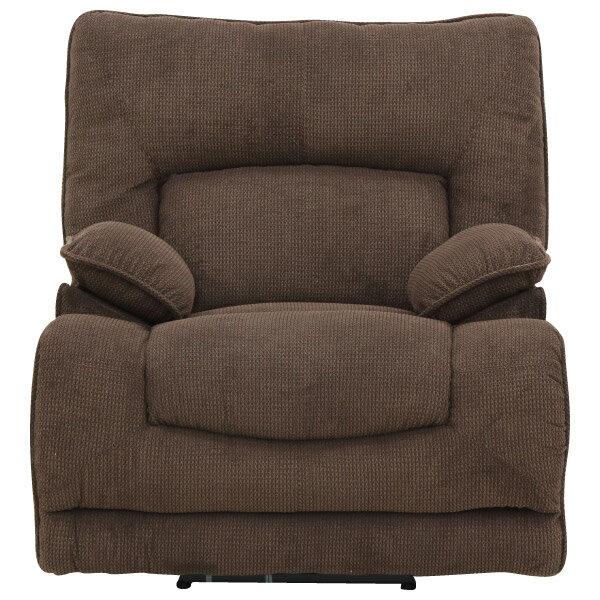 ◎布質1人用電動可躺式沙發 HIT 804 DBR NITORI宜得利家居 1