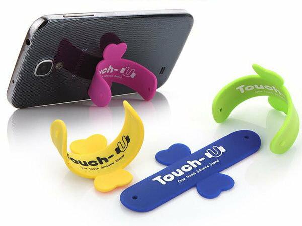 【櫻桃飾品】TOUCH-U 通用型手機支架 手機架 超商取貨 貨到付款 批發【22516】