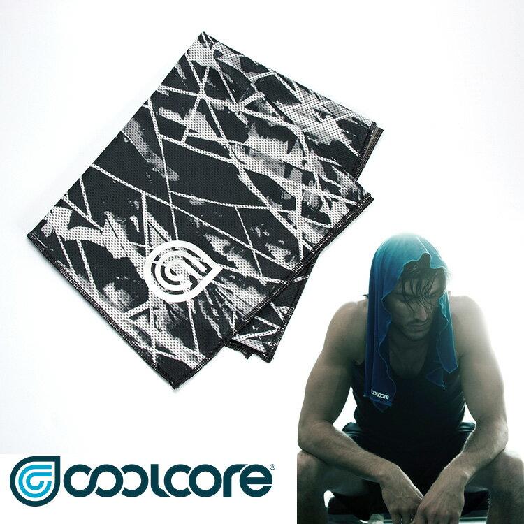 【印花系列】COOLCORE Chill Sport涼感運動巾  /  城市綠洲(涼感、降溫、運動戶外、高性能針織) 2
