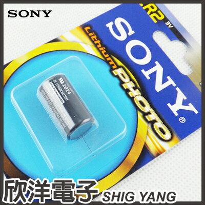 ※ 欣洋電子 ※ SONY CR2 3V鋰電池 (CR2-B1A) / 拍立得 Mini 25 50適用
