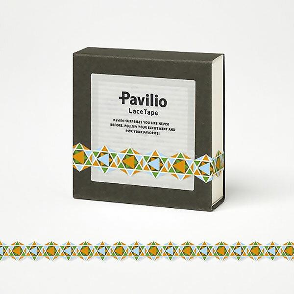 【日本Pavilio】風格膠帶MINI系列F-MI04FO桔多金捲