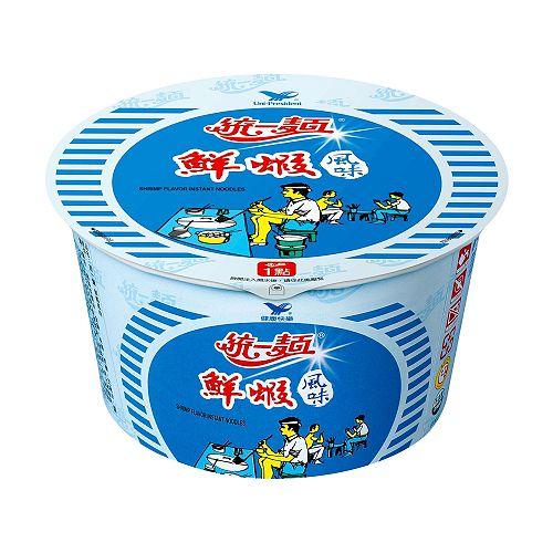 統一鮮蝦風味碗麵83g【愛買】