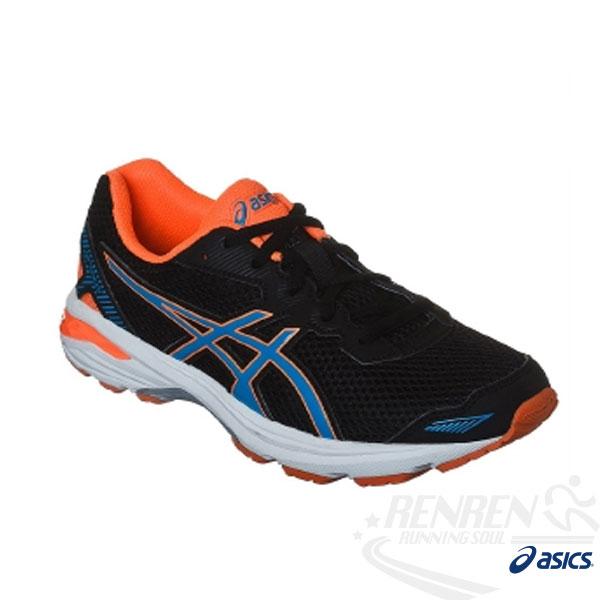 ASICS亞瑟士兒童慢跑鞋GT-10005GS(黑)良好吸震效能