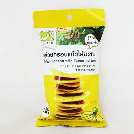 【敵富朗超巿】就是愛檸檬-羅望子夾心香蕉脆片 40g