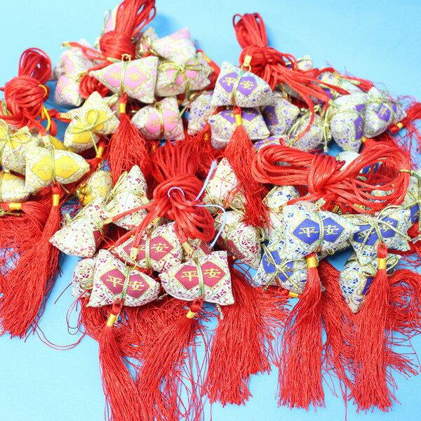 平安香包 粽子香包 項鍊式手工(成品) / 一包10個入 { 促80 }  端午節香包~4762 1