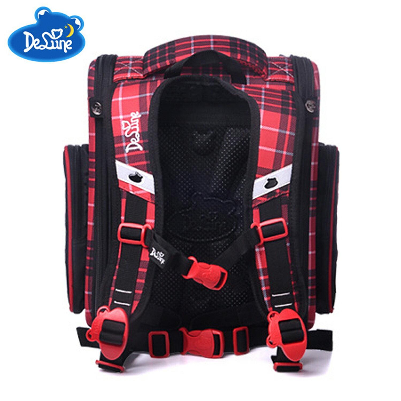 【Delune】【俄羅斯品牌護脊書包】【女童書包】紅色小狗 A3-140