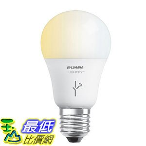 [106美國直購] 燈泡 SYLVANIA SMART A19 Tunable White LED Light Bulb  Basic Box Edition 60W Equivalent 72933