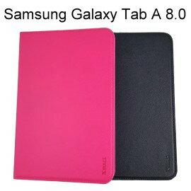 【Xmart】十字紋側掀皮套 Samsung Galaxy Tab A 8.0 P350 P355 平板