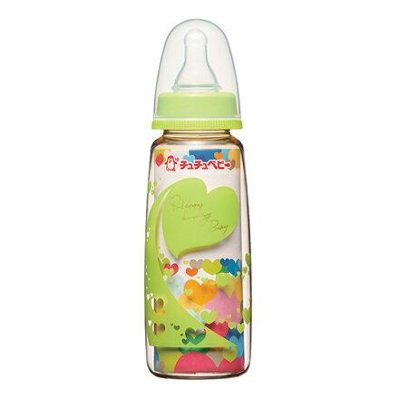 【悅兒樂婦幼用品?】CHU CHU 啾啾 大地綠標準PPSU奶瓶-240ml