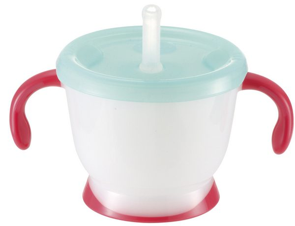 【淘氣寶寶】《日本 Richell 利其爾》第三代LC 吸管訓練杯150ml【貓物語】