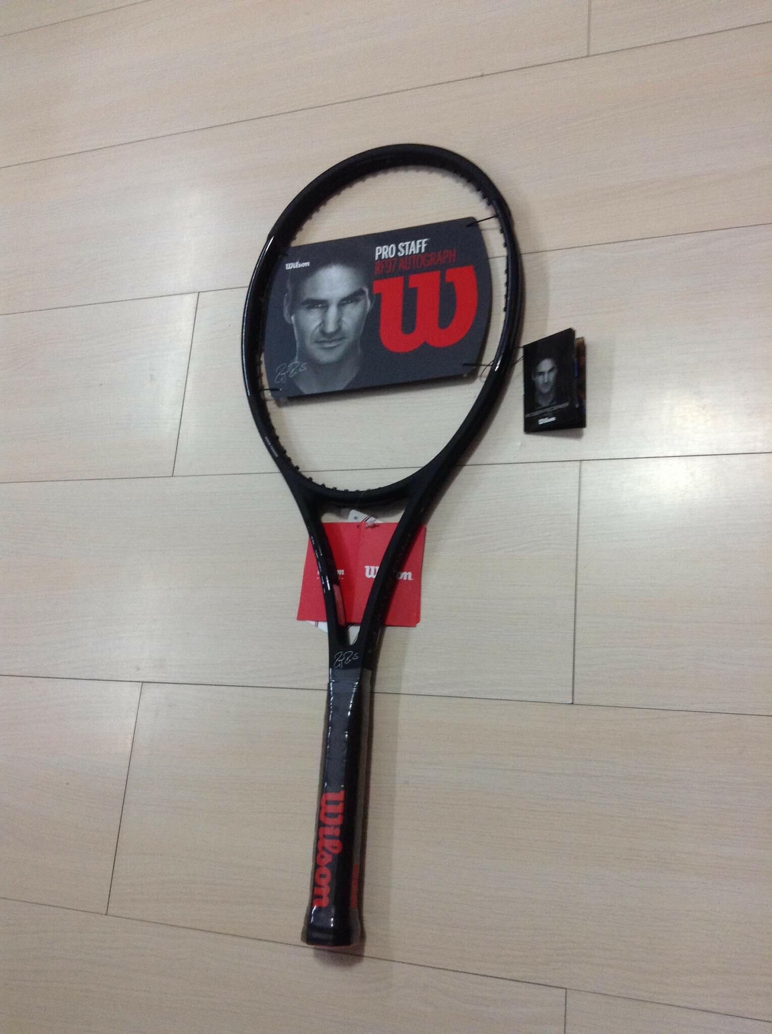 Wilson Pro Staff RF97 Autograph 費德勒20冠專用網球拍