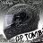 贈好禮 SBK安全帽 GP TOMB 古墓 消光黑銀 雙D扣 內襯可拆 全罩帽 耀瑪騎士機車部品 0