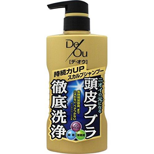 日本 樂敦 ROHTO 男仕頭皮極淨化護理洗髮精(柑橘草本) 400ml