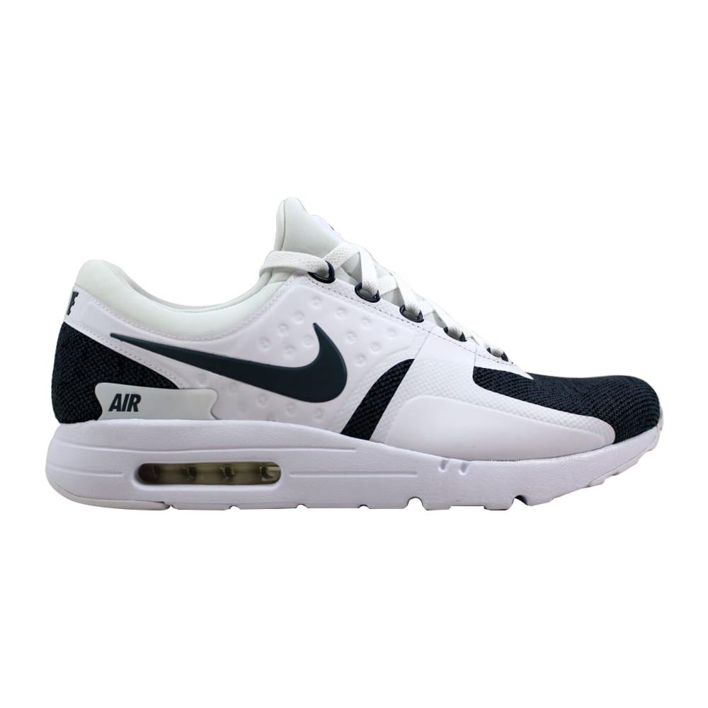 6a6c30769f Kixrx: Nike Air Max Zero SE White/Armory Blue-Black 918232-100 Men's ...
