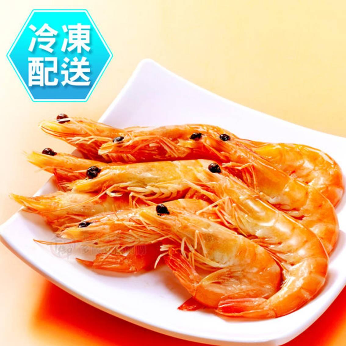 樂活生活館   紹興醉蝦(18尾) 冷凍配送   蔗雞王