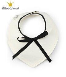 【超低價下殺5折起】瑞典【 Elodie Details】有機棉領巾型口水巾-小小蝴蝶結