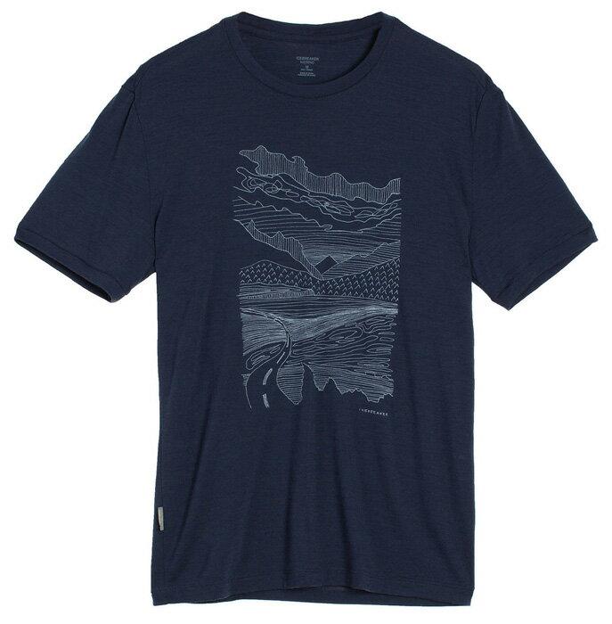 【鄉野情戶外用品店】 Icebreaker |紐西蘭| Tech Lite 山路圓領短袖上衣 男款/羊毛排汗衣/IB103269