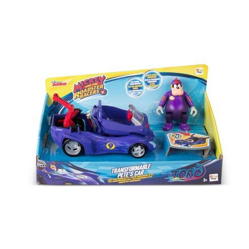 《Disney迪士尼》米奇妙妙車隊-皮特變形車