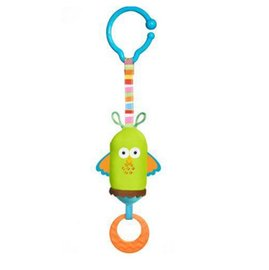【淘氣寶寶●同價位商品 第二件 66折】Tiny Love 夾偶-綠貓頭鷹風鈴【隨身攜帶並可掛在嬰兒推車、提籃汽座及嬰兒床上】